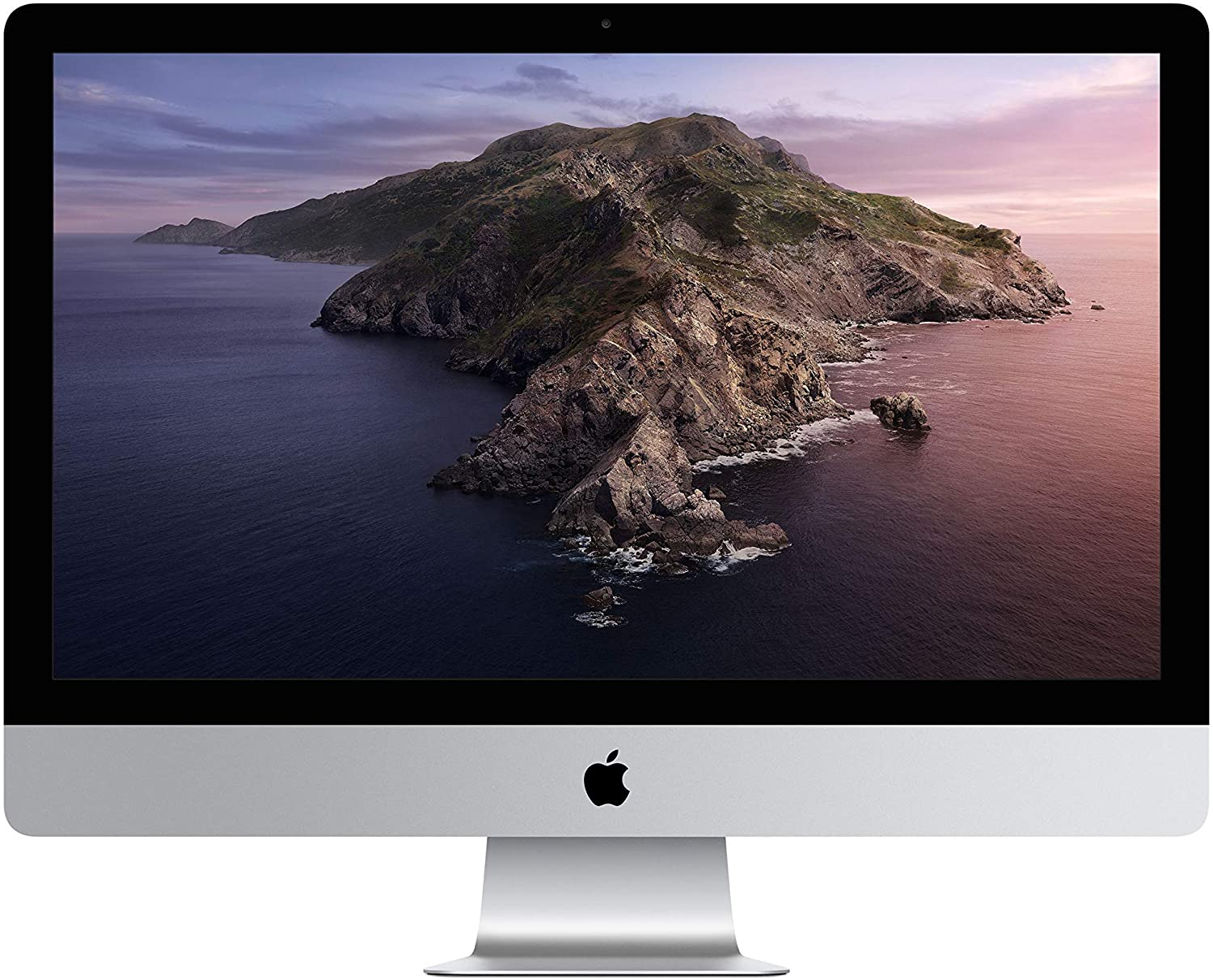 main images کامپیوتر همه کاره 27 اینچی اپل مدل iMac 2019 MRQY2B/A با صفحه نمایش 5K رتینا Apple iMac MRQY2B/A 27-Inch Retina 5K Display, 2019 Model – 3.0Ghz 6-Core 8th Generation Intel Core i5 Processor, 8GB Ram, 1TB Fusion Drive, Radeon Pro 570X with 4GB Memory