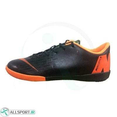 کفش فوتسال نایک مرکوریال طرح اصلی مشکی نارنجی Nike Mercurial