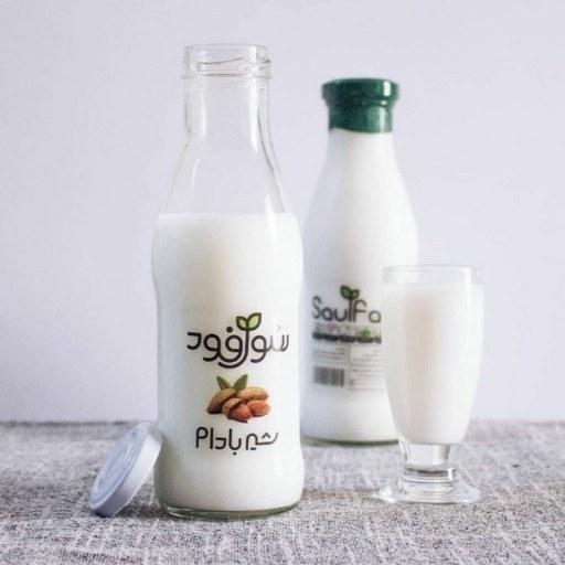 main images شیر بادام ارگانیک رژیمی سول فود