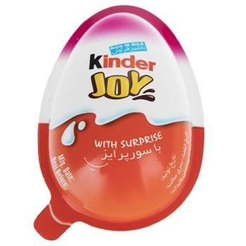تصویر تخم مرغ شانسي کيندر جوي مدل Pink مقدار 20 گرم Kinder Joy Blue Surprise Egg 20gr