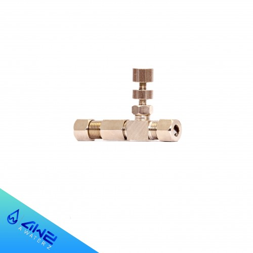 تصویر شیر میکس فلزی دستگاه تصفیه آب