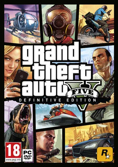 تصویر خرید بازی جی تی ای 5 GTA V برای کامپیوتر