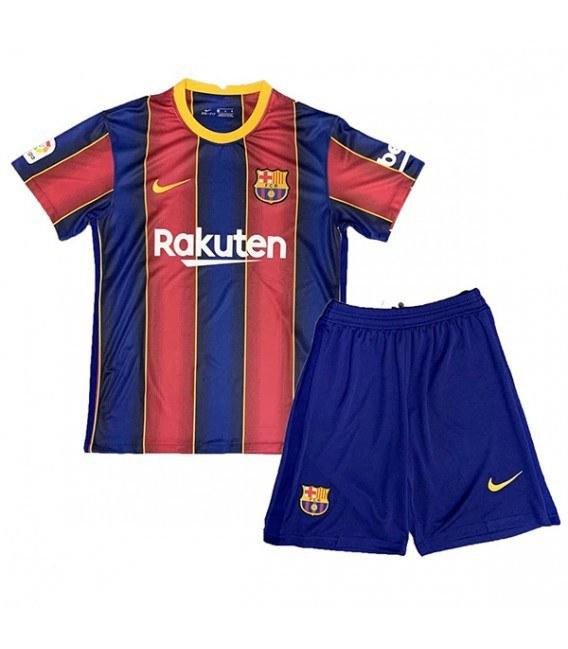 پیراهن شورت اول تیم بارسلونا Barcelona home soccer jersey 2020-2021