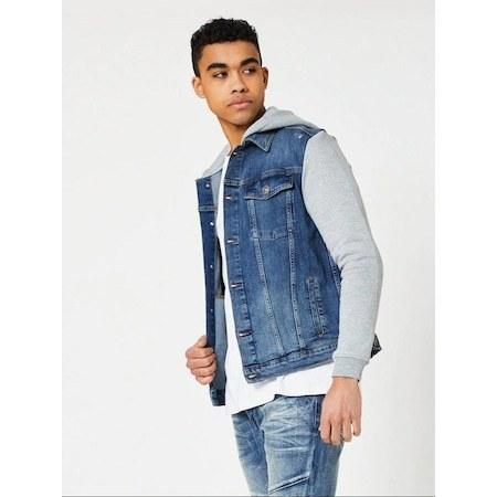 فروش نقدی ژاکت جین مردانه از ترکیه