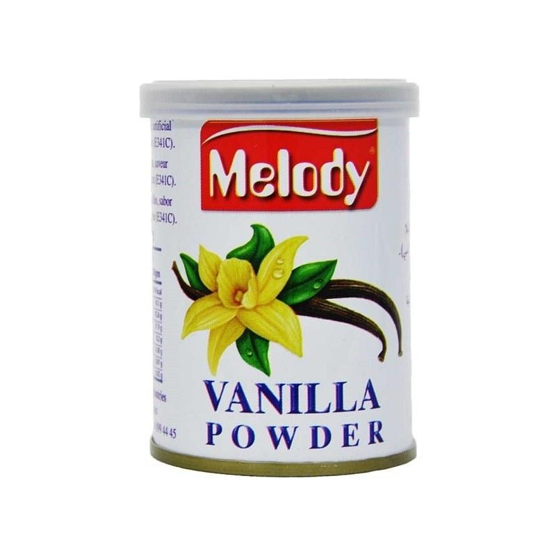 تصویر پودر وانیل ملودی (100 گرمی) | Melody Vanilla Powder