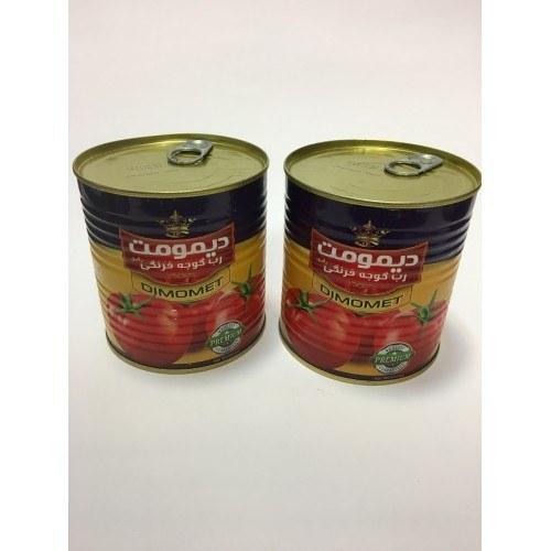 تصویر پک 6 تایی رب گوجه فرنگی 1 کیلوئی دیمومت