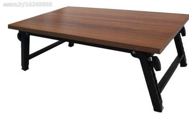 قابلیت تنظیم ارتفاع و شیب با پایه های تاشو | میز تحریر و لپ تاپ تاشو مهر تجهیز سایز بزرگ
