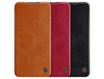 کیف چرمی نیلکین شیائومی Nillkin Qin Leather Case Xiaomi Redmi Note 8 Pro |