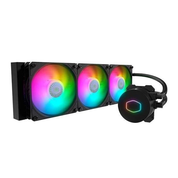 تصویر خنک کننده پردازنده کولرمستر مدل MasterLiquid ML360L ARGB V2