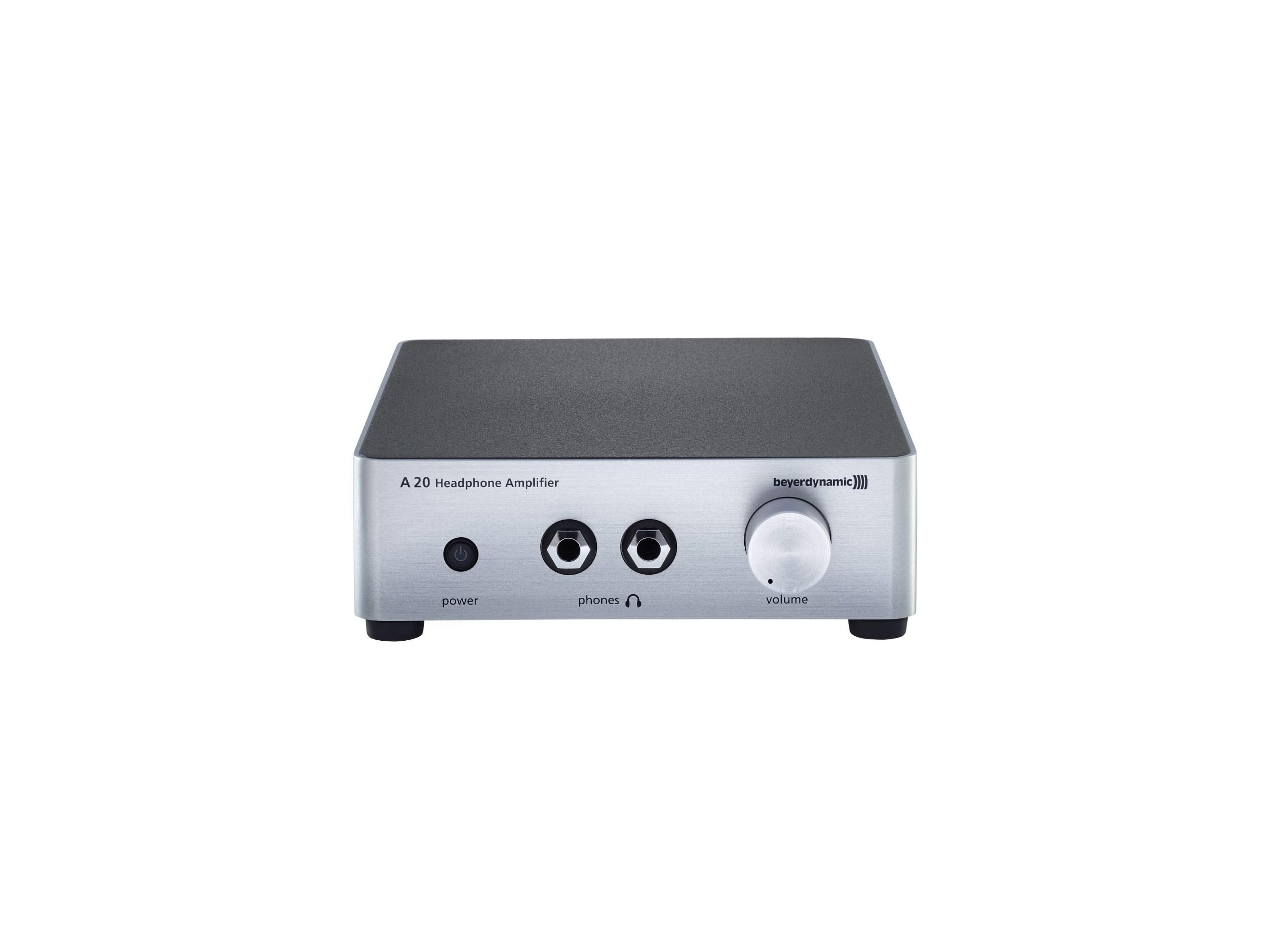 عکس beyerdynamic A20 Headphone Amplifier - Silver  beyerdynamic-a20-headphone-amplifier-silver