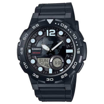ساعت مچی عقربه ای مردانه کاسیو مدل AEQ-100W-1AVDF