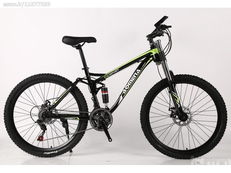 دوچرخه شیک و زیبای سایز 26   سایز 26 / کمک جلو و  کمک وسط / 21 دنده شیمانو/ ترمزهای دیسکی / بسیار شیک و جوان پسند / و...