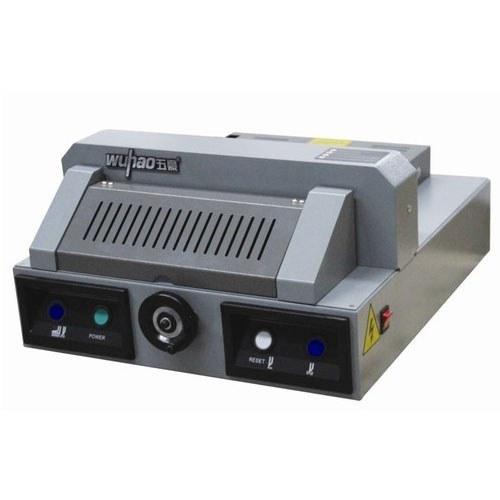 تصویر دستگاه برش برقی کاغذ مدل AX-320V Electric paper cutting machine model AX-320V