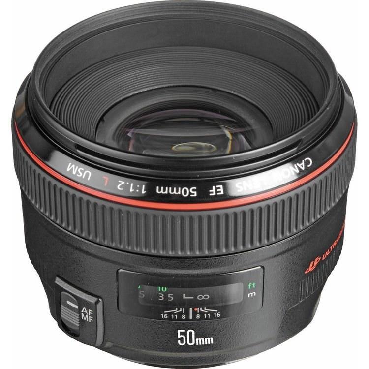تصویر Canon EF 50mm f/1.2L USM