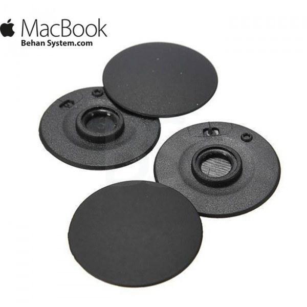 """تصویر پایه لاستیکی کف مک بوک پرو سیزده اینچ مدل A1278 سال 2008 تا 2012 Rubber Feet MacBook Pro 13"""" A1278"""