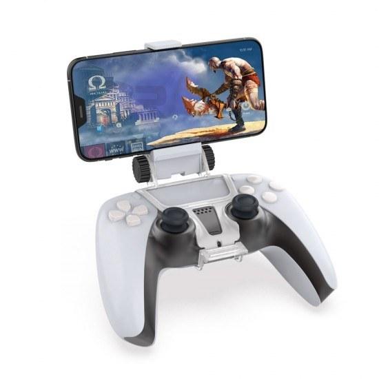تصویر پایه نگهدارنده موبایل دسته پلی استیشن 5 - Mobile Phone Clamp DualSense Dobe