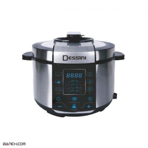تصویر زودپز برقی دسینی 6 لیتر 6006 Dessini Pressure Cooker 6006 Dessini Pressure Cooker 6L