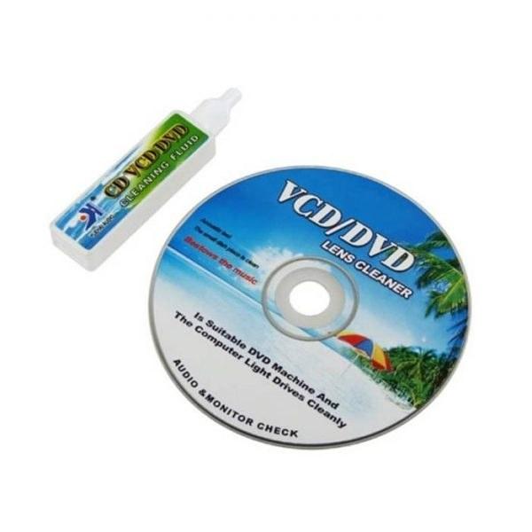 تصویر کیت تمیز کننده لنز Yuehaiyizu مدل YH-608 Yuehaiyizu VCD/DVD Lens Cleaner YH-608