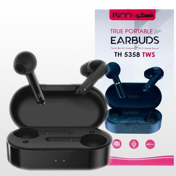 تصویر هدست بلوتوث تسکو مدل TH 5358 TSCO TH 5358 Bluetooth Headset