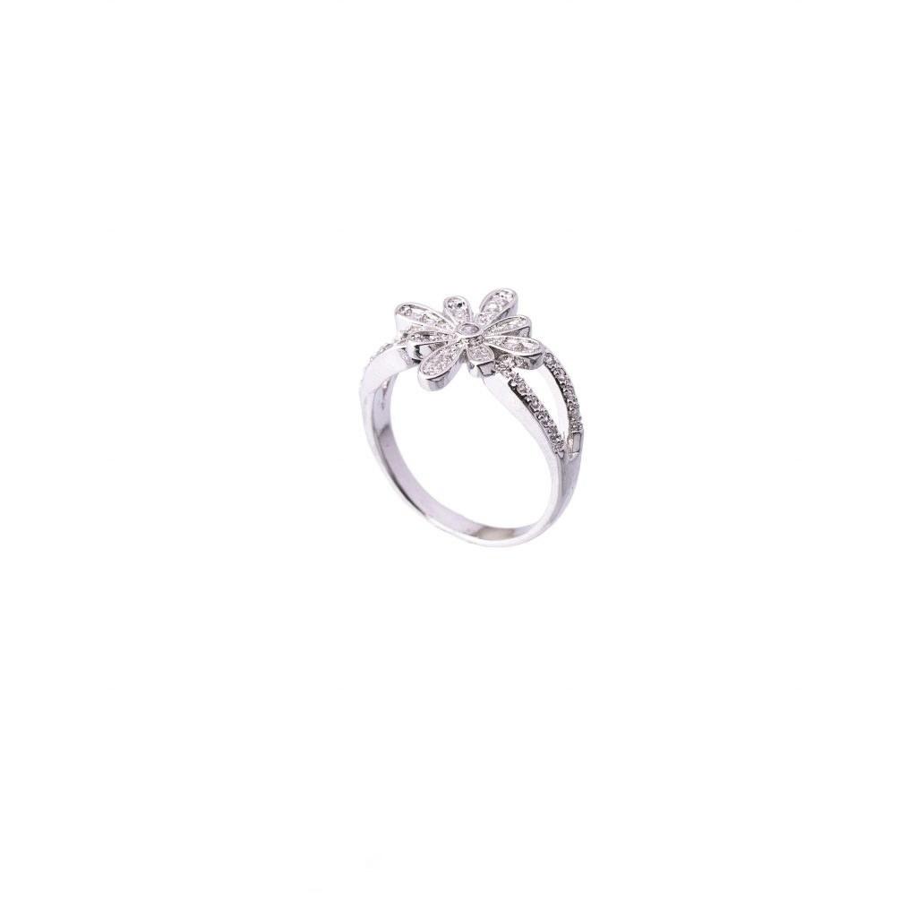 انگشتر زنانه-انگشتر نقره ای مدل ۱۰۰۴