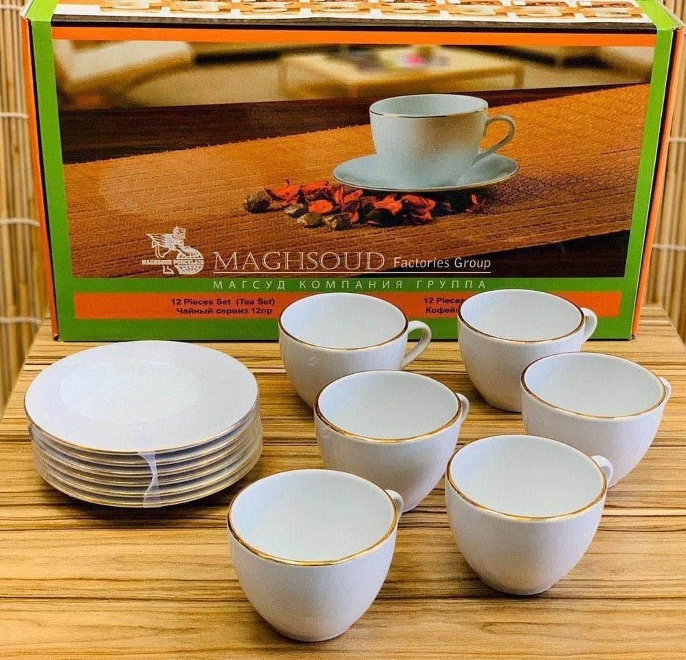 تصویر سرویس چای خوری 6 نفره مقصود