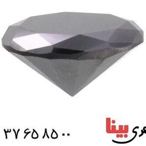 تصویر نگین انگشتر الماس سیاه دارای شناسنامه بین المللی _کد:۲۵۵۴