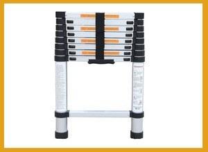 تصویر نردبان 3.2 سانتیمتری 11 پله مدل EN131 EN131CE