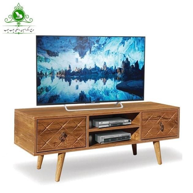 تصویر میز تلویزیون مدل ۱۴۴ | فروشگاه اینترنتی چوب چوب