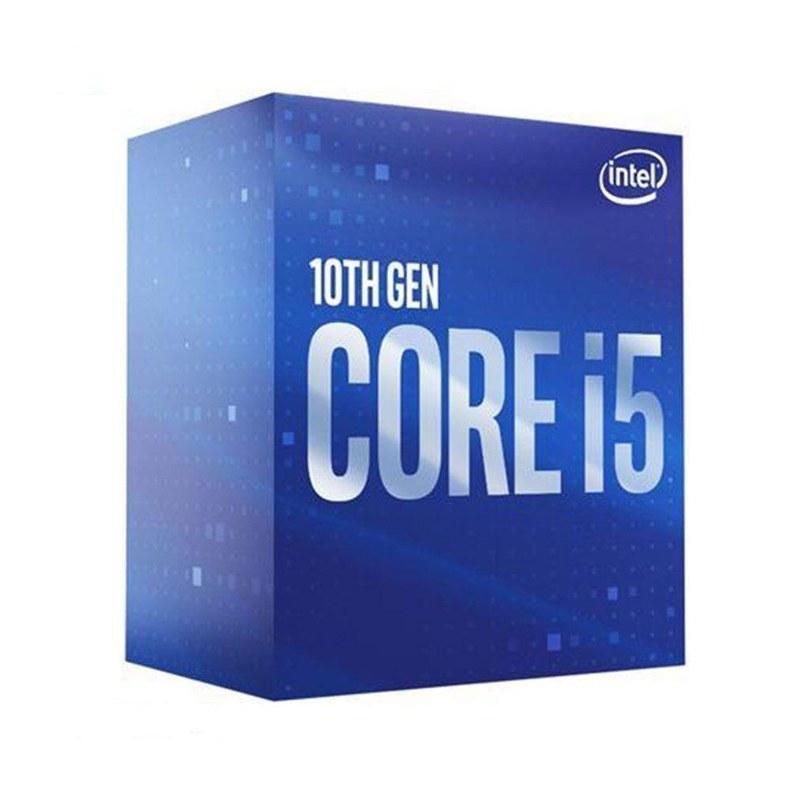 تصویر پردازنده مرکزی اینتل سری Comet Lake مدل Core i5-10400 ا Intel Comet Lake Core i5-10400 CPU Intel Comet Lake Core i5-10400 CPU