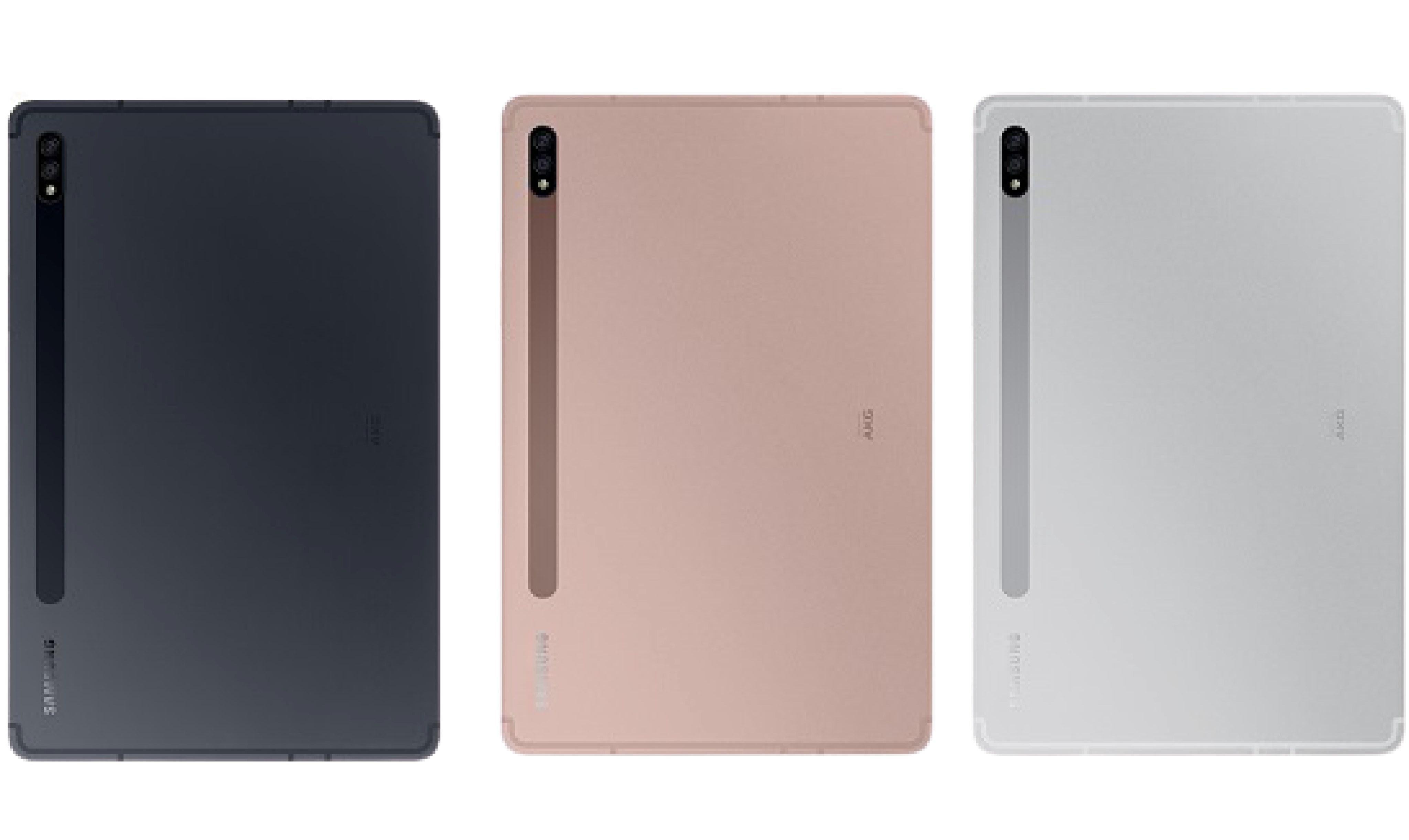 تصویر تبلت سامسونگ گلکسی تب اس 7 پلاس مدل SM-T975 ظرفیت 128 گیگابایت 4G ( با گارانتی ) Samsung Galaxy Tab S7 Plus T975 128GB