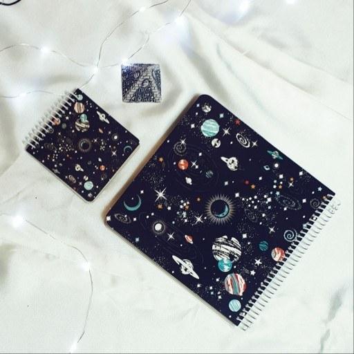 main images ست بولت ژورنال طرح کهکشان