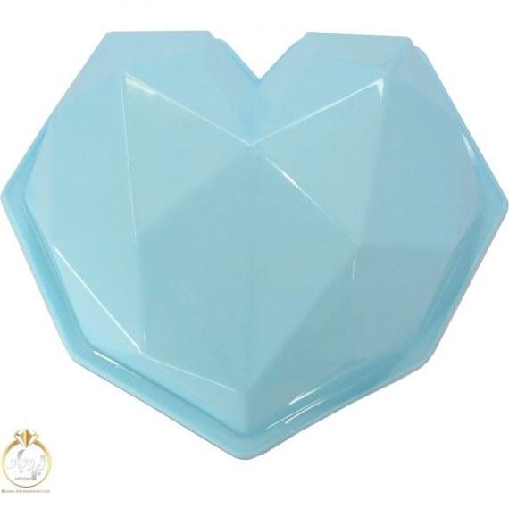 تصویر قالب ژله قلب طرح الماس