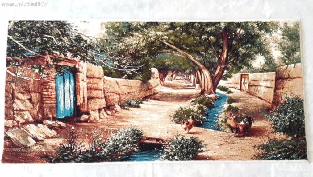 تابلو فرش کوچه باغ ( صادراتی ) |
