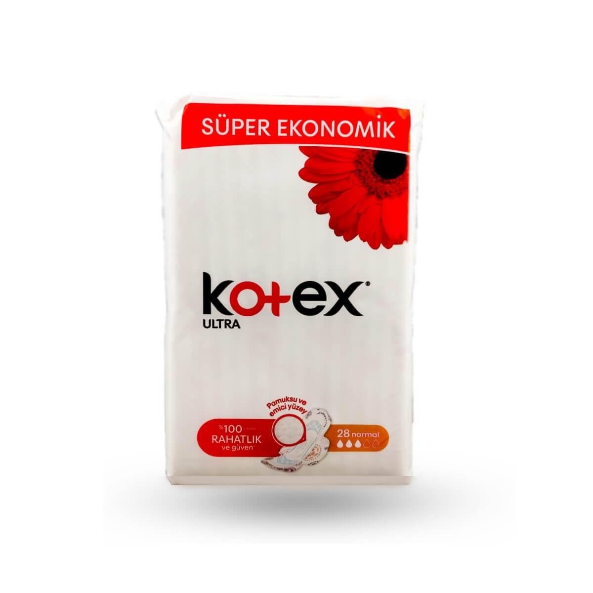 عکس نوار بهداشتی کوتکس kotex  مدل نرمال 28 عددی  نوار-بهداشتی-کوتکس-kotex-مدل-نرمال-28-عددی