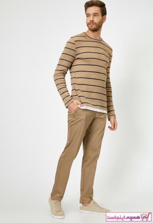 تصویر شلوار مردانه حراجی برند کوتون رنگ بژ کد ty32355723