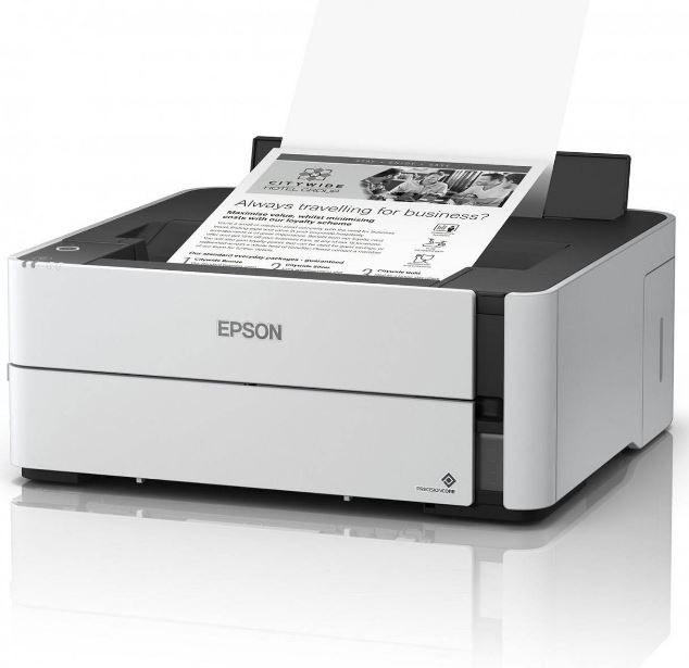 تصویر پرینتر تکرنگ اپسون مدل ECOTANK M1140 Epson ECOTANK M1140 Printer