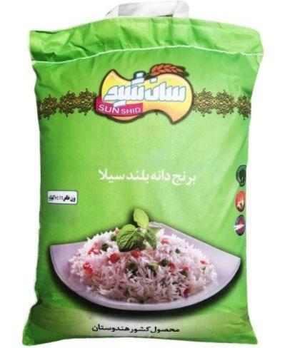 تصویر برنج هندی سان شید 10 کیلوگرم