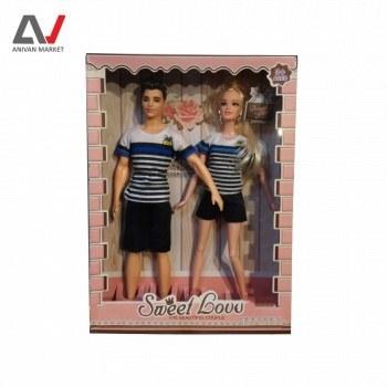 تصویر عروسک باربی زن و شوهر کد 616