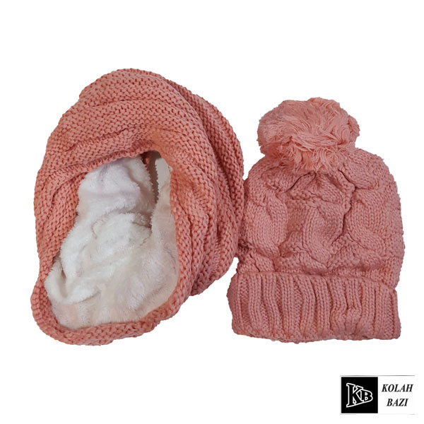 main images شال و کلاه بافت مدل shk43 Textured scarf and hat shk43