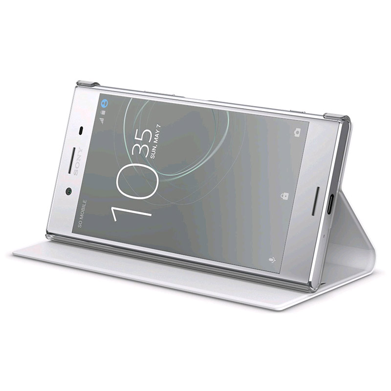 100% authentic b5eb3 71b86 Sony Xperia XZ Premium Style Cover Stand SCSG30
