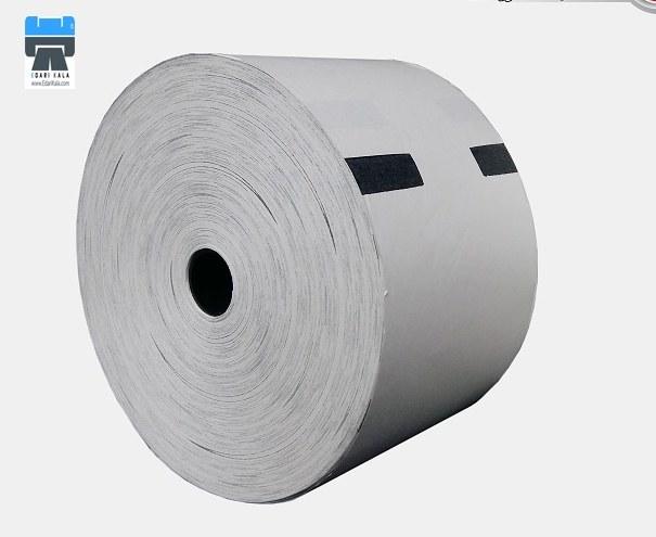 تصویر رول کاغذ حرارتی دستگاه ATM Thermal paper roll of ATM machine