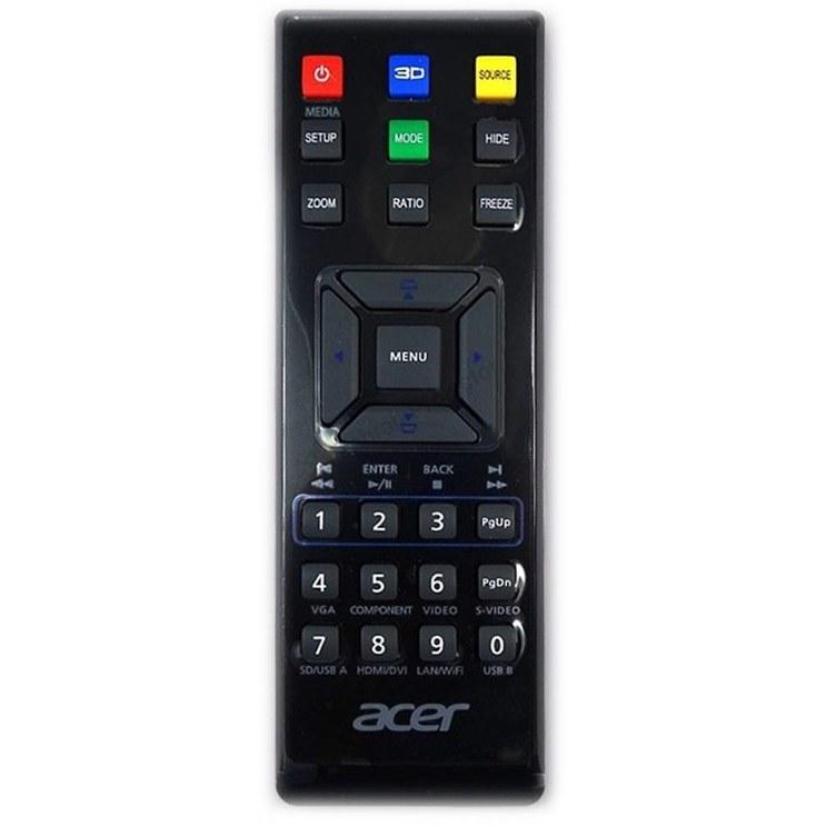 تصویر ریموت کنترل ویدئو پروژکتور ایسر کد 1 – Acer projector remote control