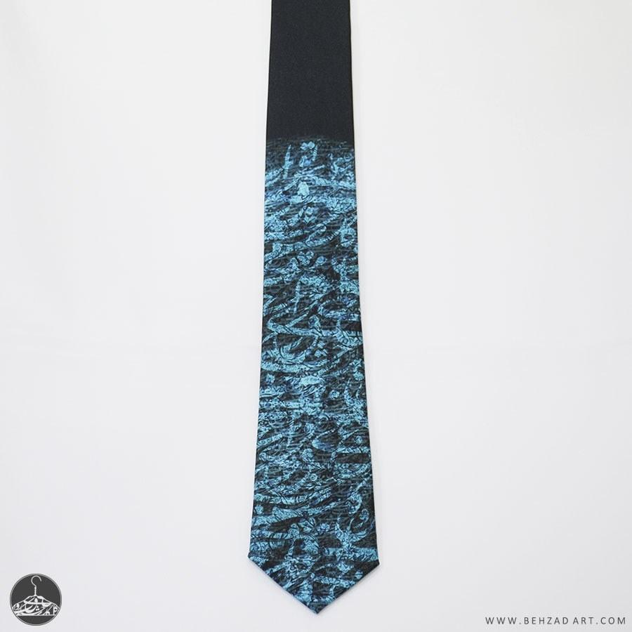 کراوات طرح کالیگراف ۱