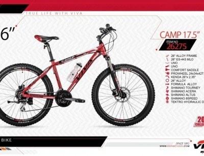 دوچرخه کوهستان ویوا مدل کمپ کد 26275 سایز 26 -  VIVA CAMP17.5 - 2019 colection با ارسال رایگان