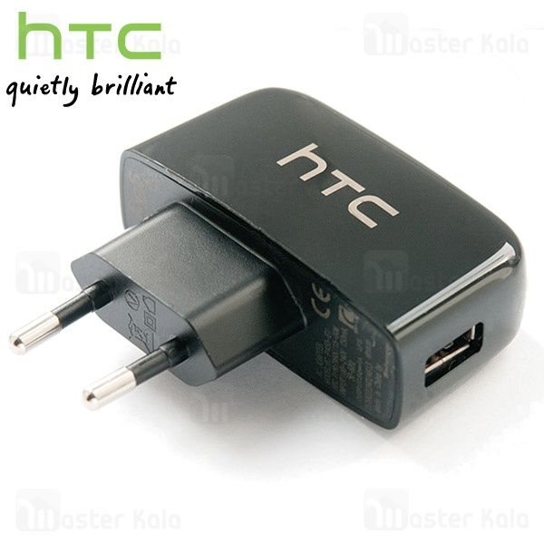 main images شارژر پک دار HTC  مشکی HTC Mobile Charger White Model TC P450-EU