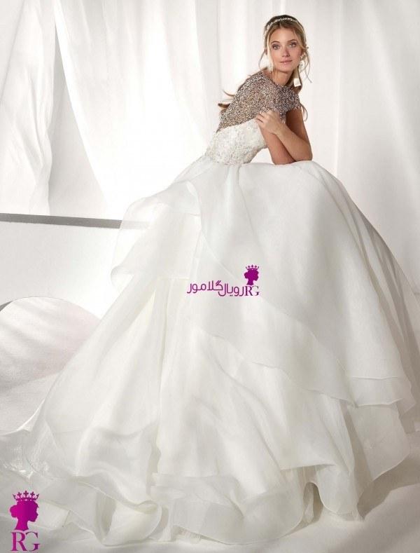 تصویر مدل لباس عروس پرنسس 2020