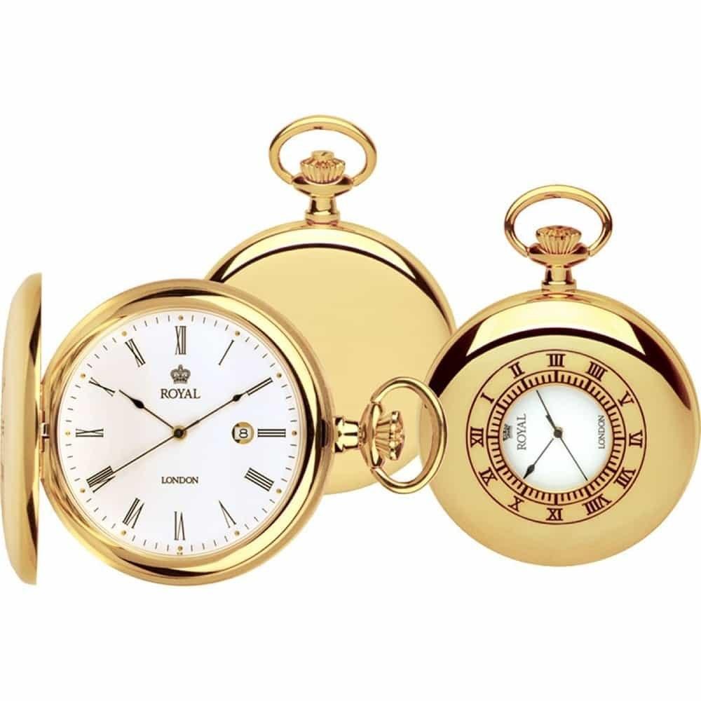 تصویر ساعت جیبی مردانه رویال لندن RL-90008-02