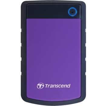 تصویر هارددیسک اکسترنال ترنسند مدل StoreJet 25H3 ظرفیت 1 ترابایت Transcend StoreJet 25H3 External Hard Drive - 1TB