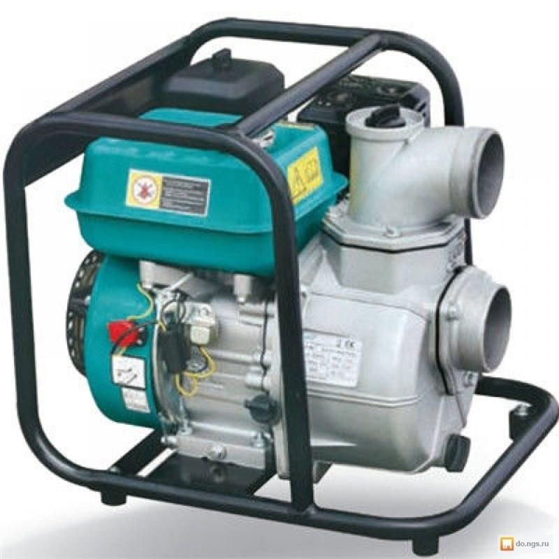 تصویر موتور پمپ بنزینی 2 اینچ ارتفاع بالا LEO LGP20-2H