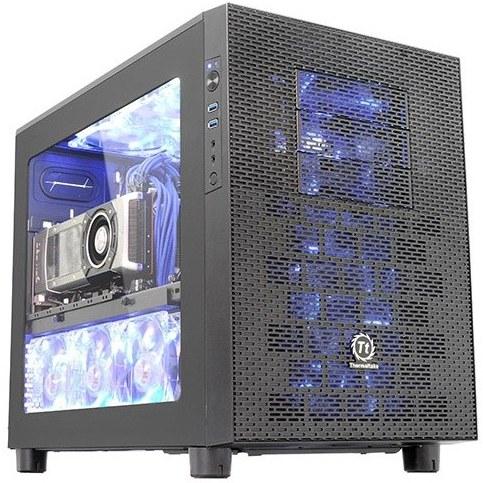 عکس کیس ترمالتیک مدل Core X2 mATX Cube کیس Case ترمالتیک Core X2 mATX Cube Case کیس-ترمالتیک-مدل-core-x2-matx-cube